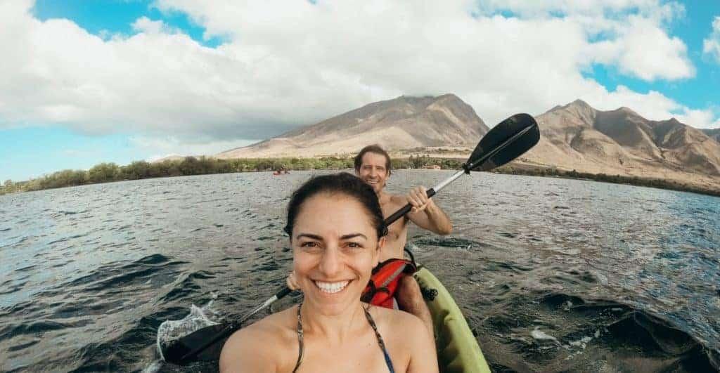 Olowalu Kayak Snorkeling Itinerary