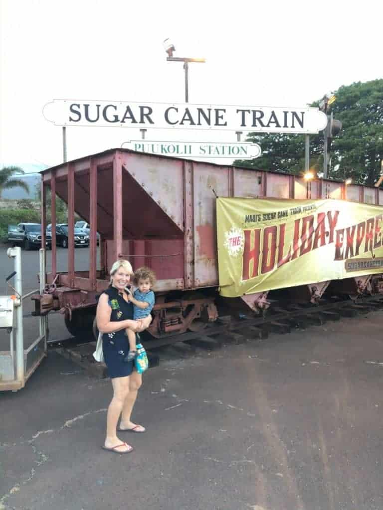 Polar Express Maui Christmas Vacation