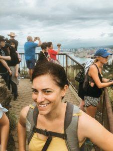 Diamond Head Hike crowds things to do oahu hawaii