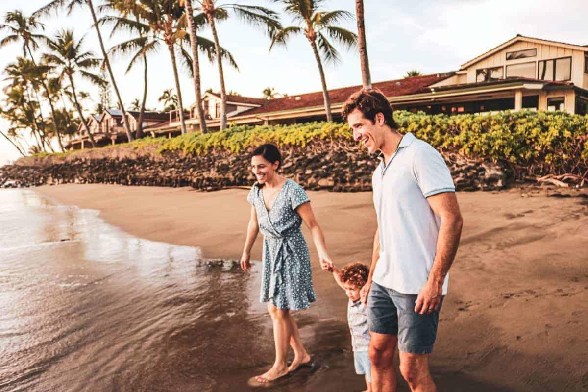 Family November Vacation in Maui