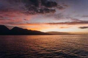 January Maui Sunrise Whale Watching