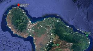 Maui Map Nakalele Blowhole Thing to Do