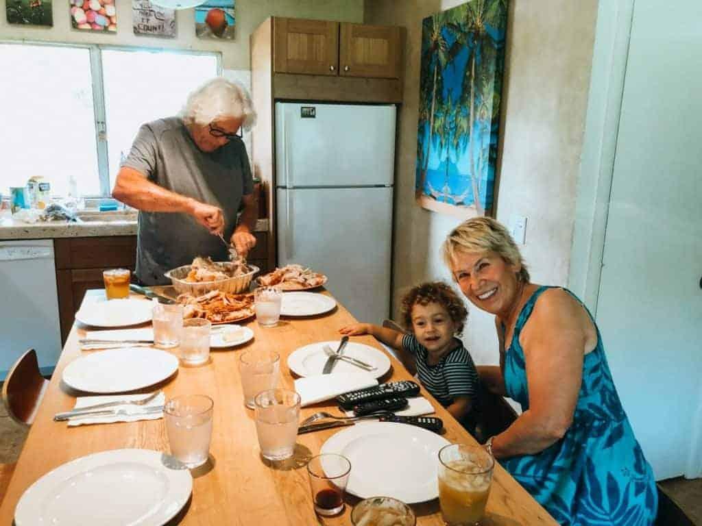 Maui Thanksgiving Dinner November