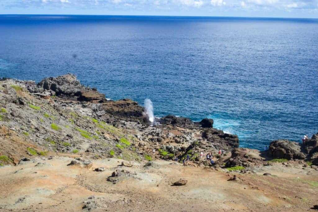 Maui blowhole activity must see