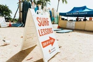 Surf Lessons Oahu Go Card