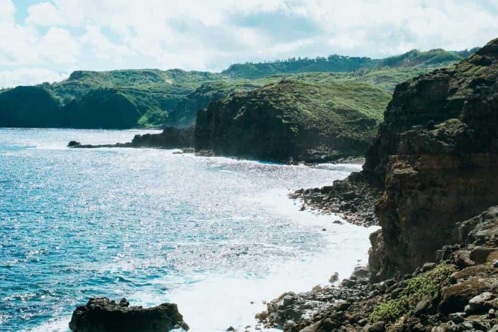 northwest maui coast