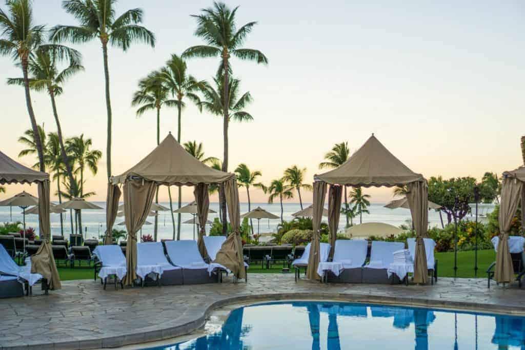 Fairmont Kai Lani honeymoon adults pool