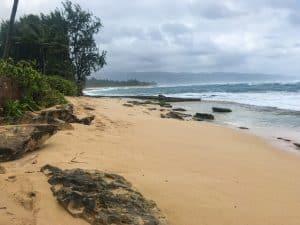 Hawaii Beach bad time to visit