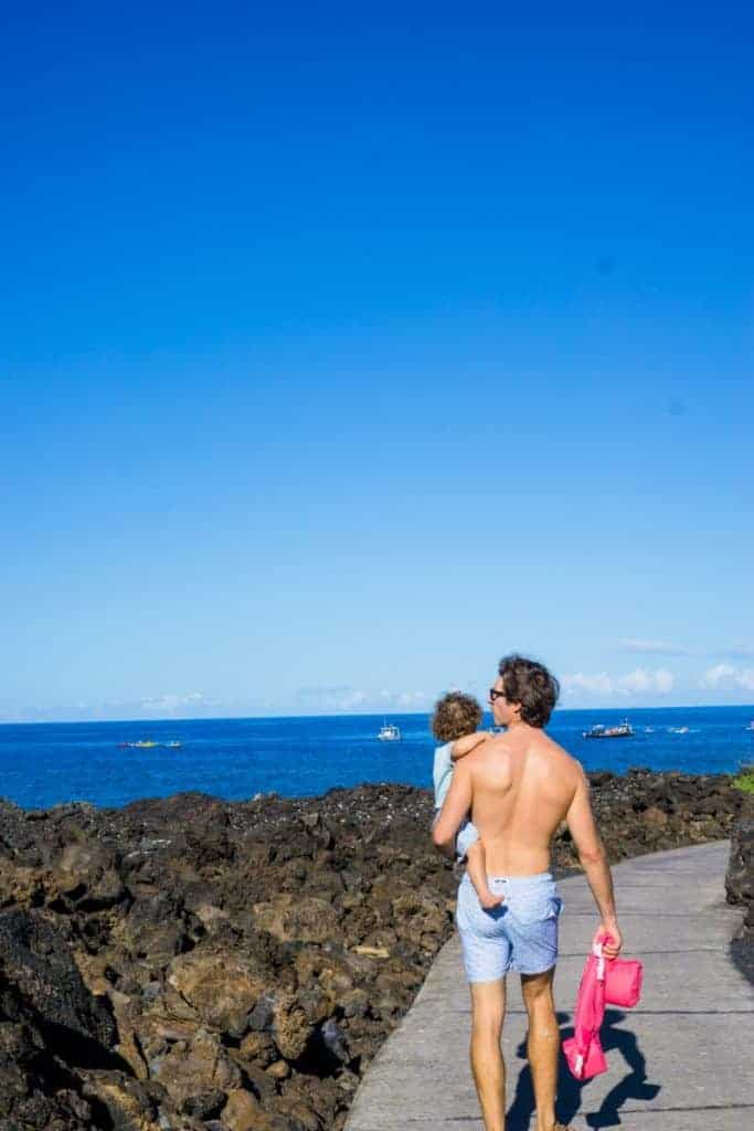 Kailua-Kona Best Beaches Kikaua Point Beach