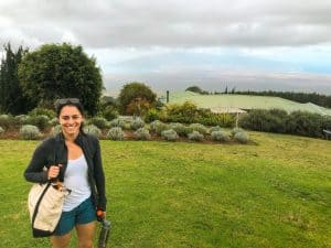 Maui Honeymoon Itinerary Lavender Farm Kula
