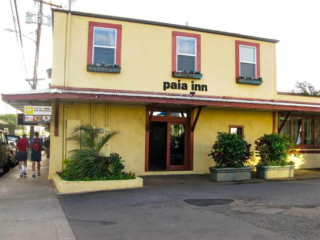 Paia Inn Maui honeymoon hotel