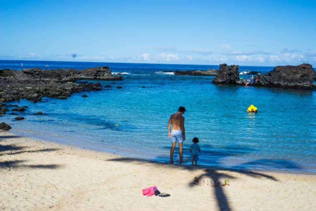 Sandy beaches kona Hawaii