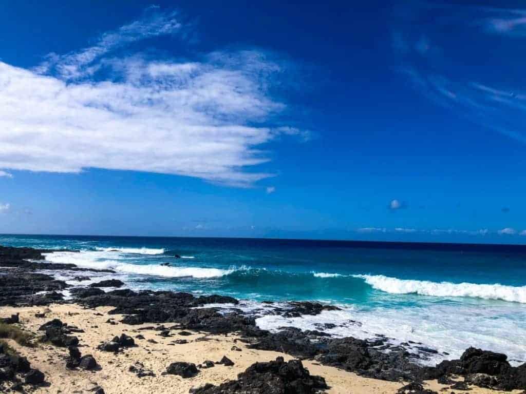 best kona beaches Mahai'ula Beach