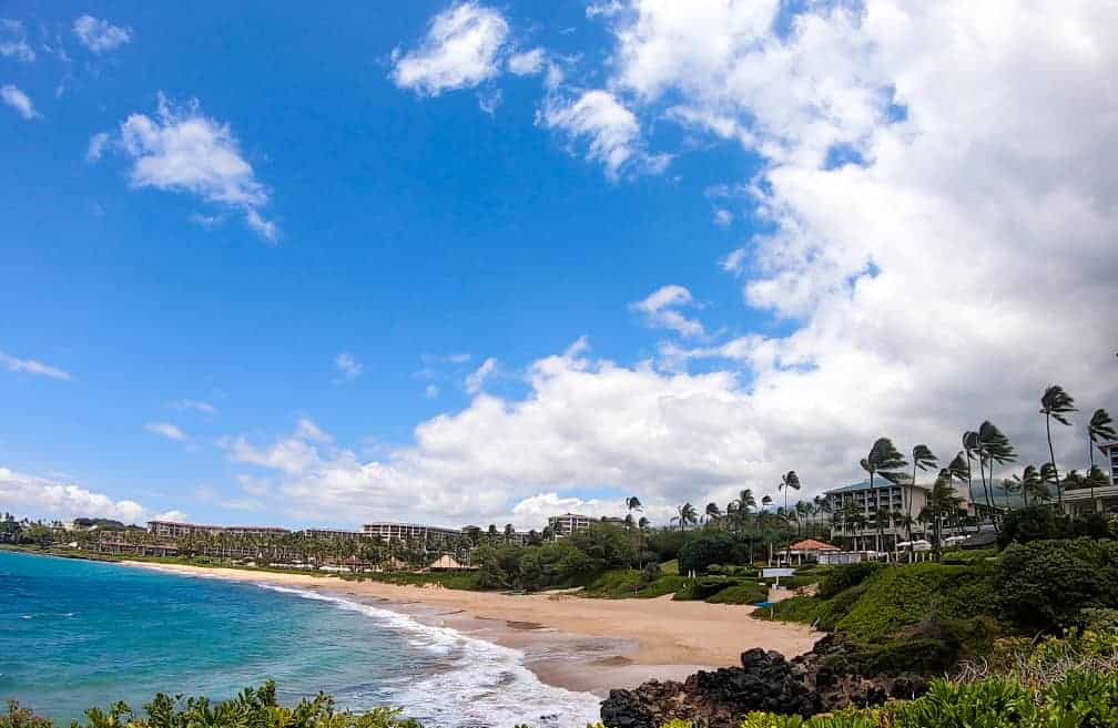 wailea beach maui honeymoon guide