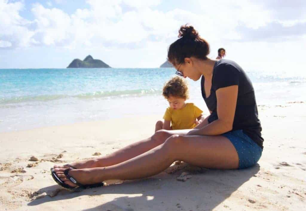 Best Hawaiian Island for Kids_Oahu Lanikai
