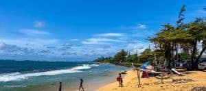 Kapaa Kauai Fuji Beach Kid friendly