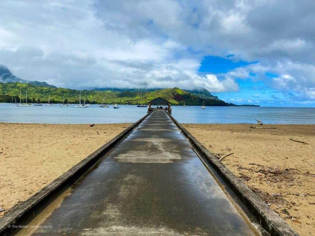 Kauai 3 day itinerary hanalei pier thing to do