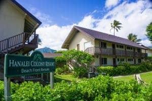 Kauai Honeymoon Resort is Hanalei Colony Resort