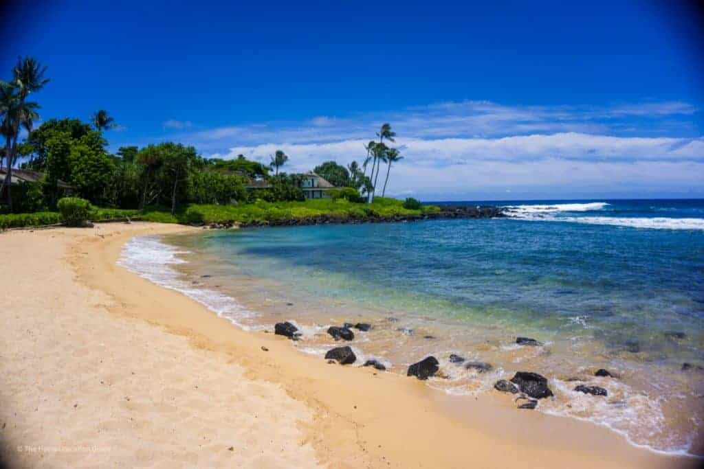 south side Kauai baby beach family friendly