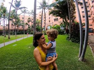 hawaii Oahu hotel cost family of four
