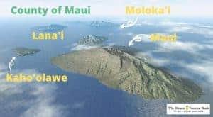 Maui Travel Guide Maui and Islands Map