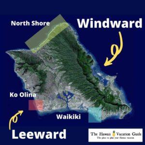 Oahu Travel Guide Map of Oahu