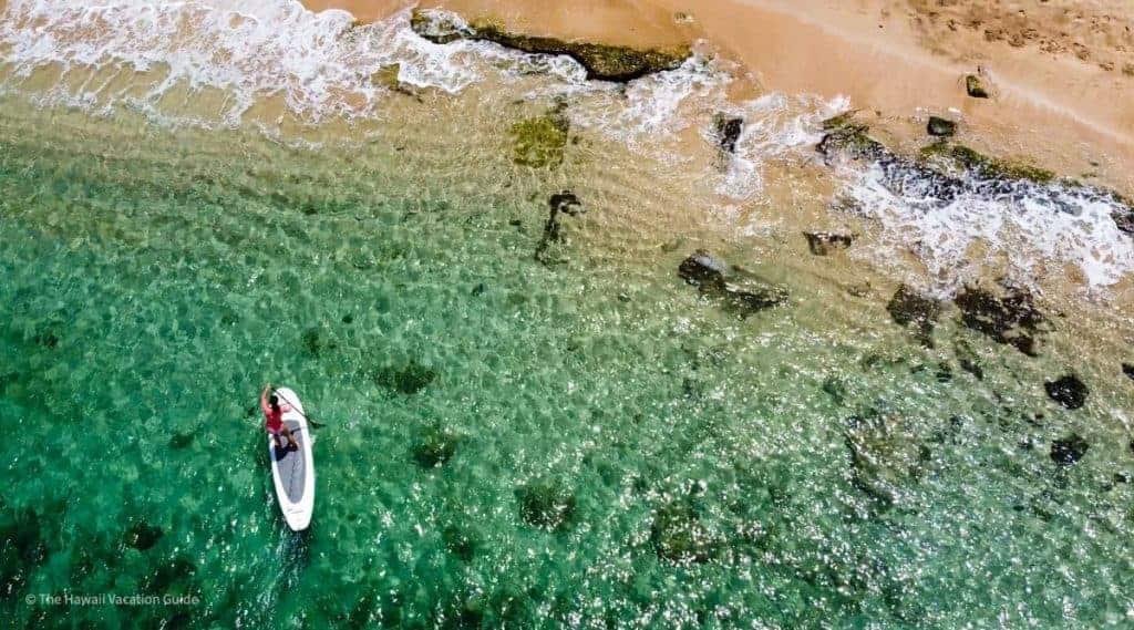 Hawaii Honeymoon on Budget activities SUP