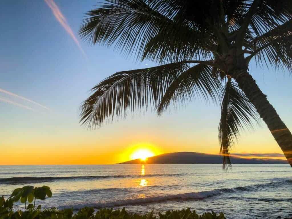 best hawaiian island first timers maui sunsets