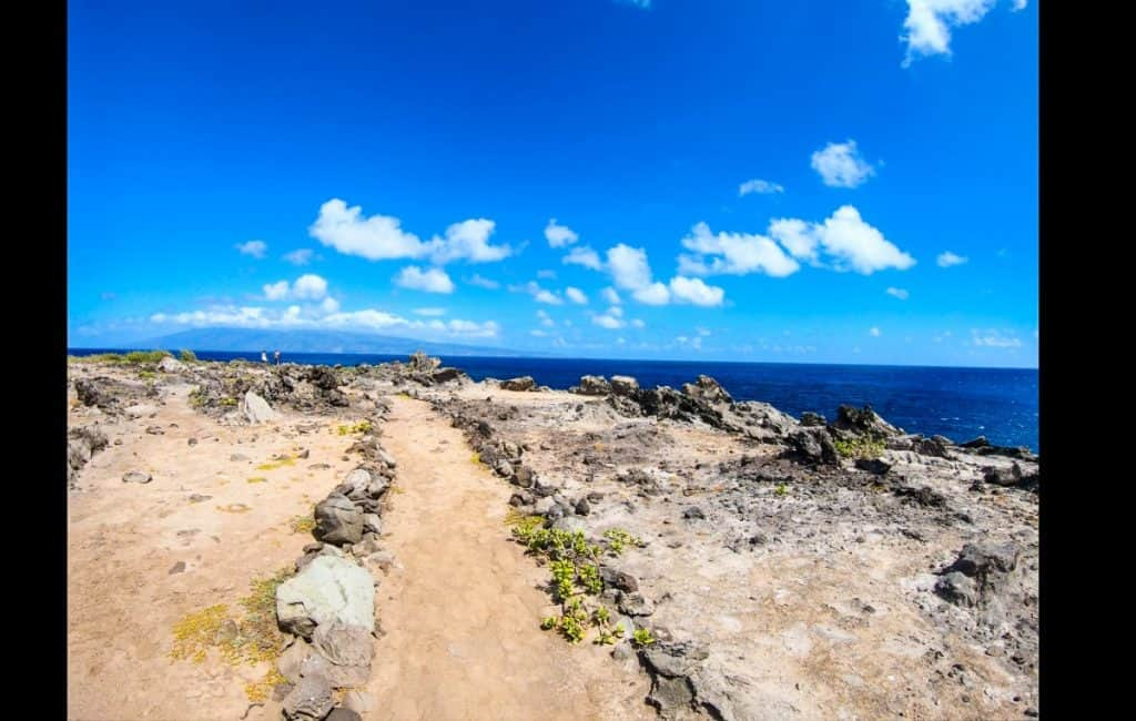 family friendly hikes maui kapalua coastal trail lava field