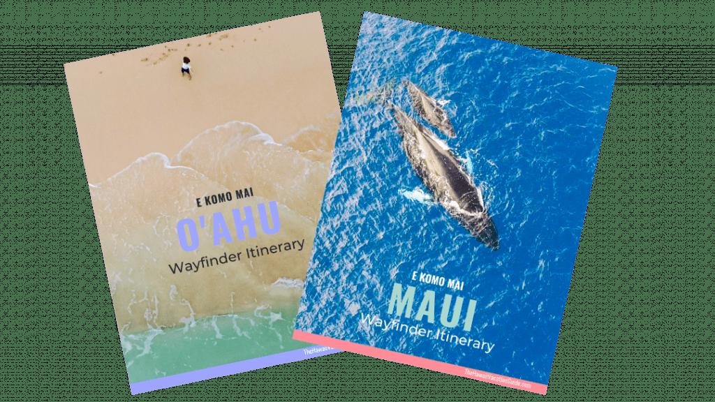 Hawaii Itineraries Wayfinder Itineraries