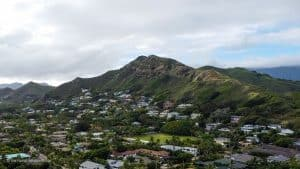 Lanikai Pillbox Hike easy Oahu hikes