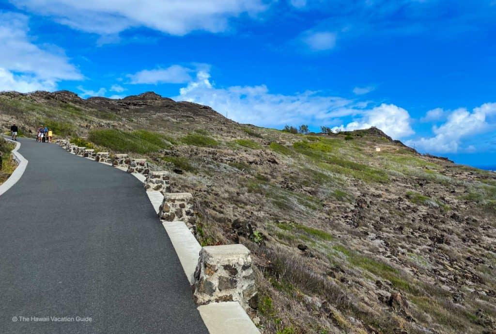 Makapuu Point Lighthouse Trail easy oahu hikes