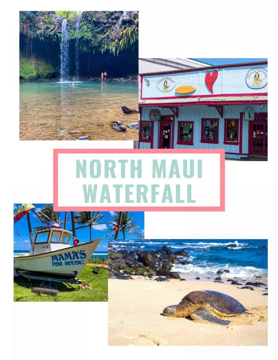 Maui Wayfinder Itinerary North Shore Itinerary Day