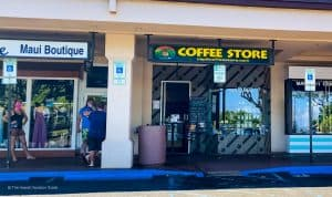 Napili Coffee Store best coffee shops maui hawaii