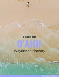 Oahu Wayfinder Itinerary Cover Page 2