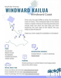 Oahu Wayfinder Itinerary Windward Kailua Overview