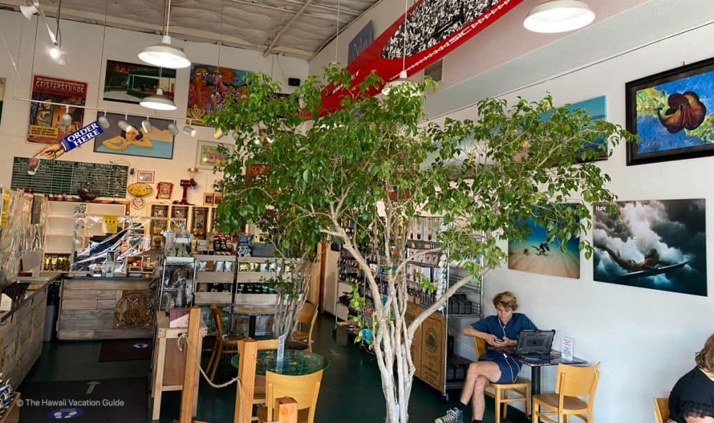 best coffee maui Maui Coffee Roasters seating