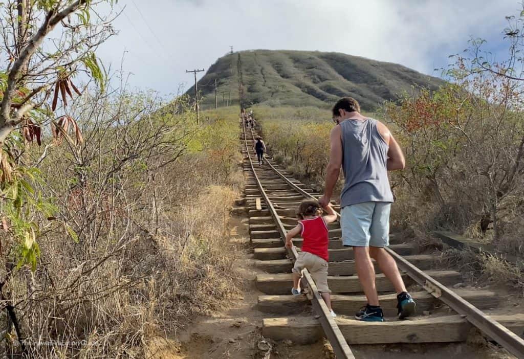 koko head crater hike oahu easy hikes