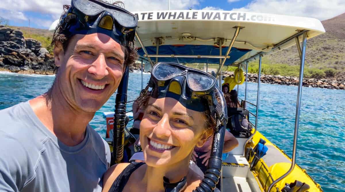 Lanai maui snorkel tour ultimate whale watch
