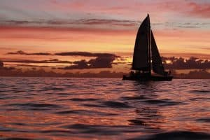 sunset sail maui