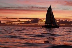 sunset sail maui