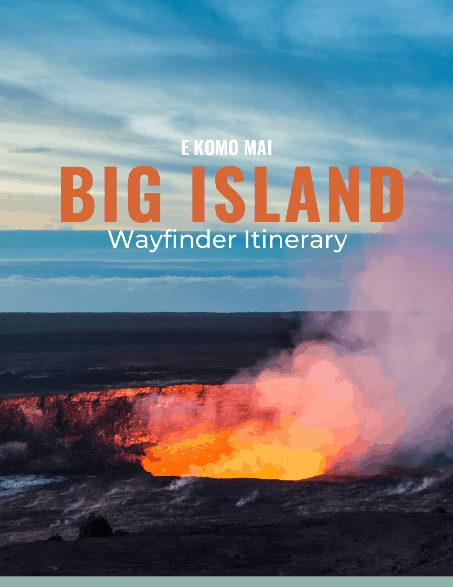 Oahu Wayfinder Itinerary Cover
