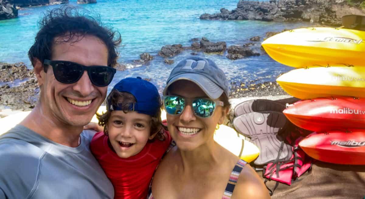 Adventures in Paradise Hawaii Kayak tour