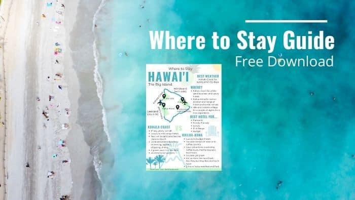 Hawaii Big Island Where to Stay Download