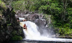umauma falls big island zip and dip