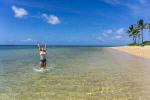 maui vs Kauai anini beach