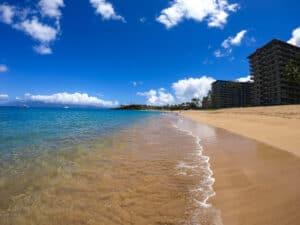 best beaches maui kaanapali