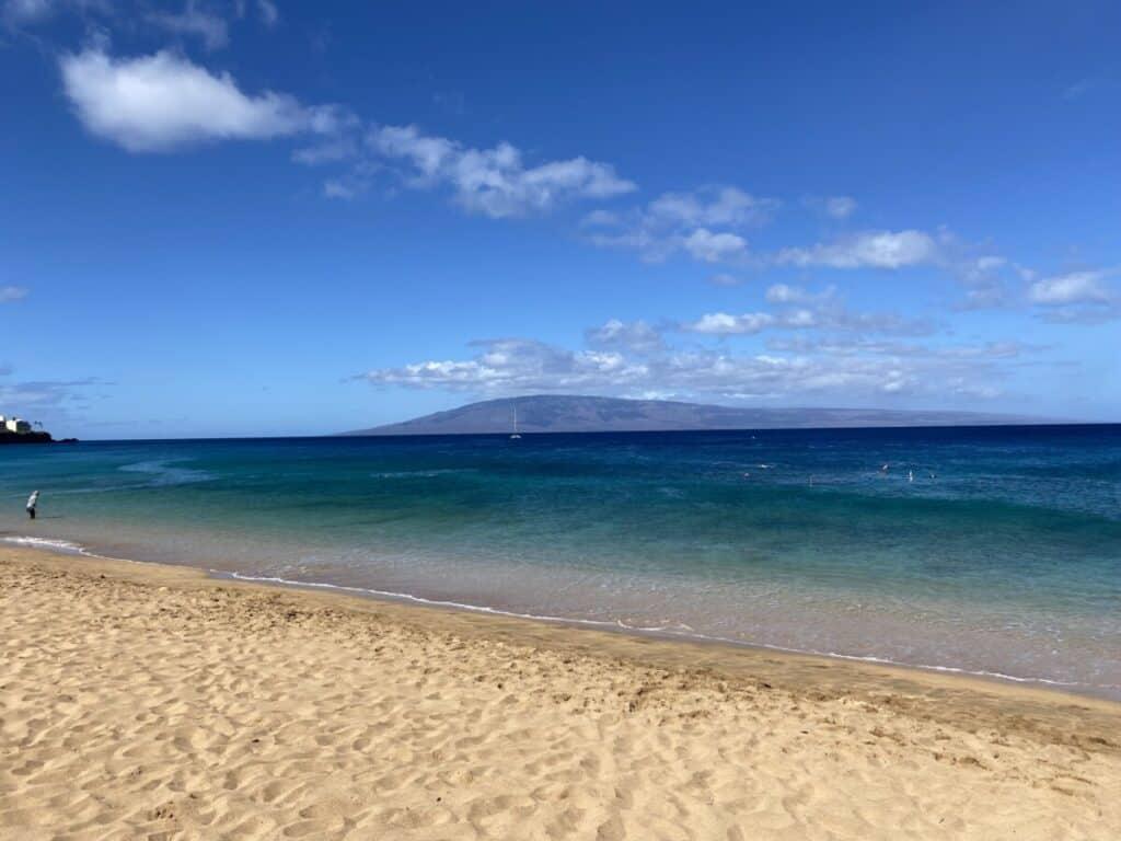 best beaches maui Kahekili airport beach