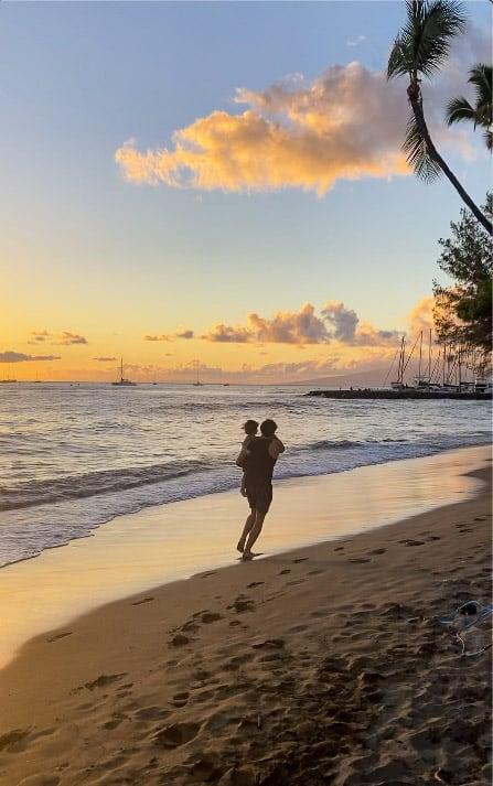 Best beaches Lahaina Kamehameha Iki