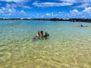 Best Snorkeling Kauai Lydgate Beach